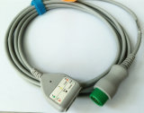 Mindray 12pin Snap & Clip DIN3 Trunk ECG Cable