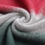 Camisola de malha de mulheres a impressão de Tamanho Excessivo Pulôver mangas longas Nova