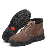 Середине лодыжки велюр обувь из натуральной кожи для работников