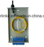 Rectángulo terminal de la fibra montada en la pared portuaria 8 para FTTH