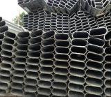 Tubo de acero de 60X30m m/tubo 80X40m m ovales galvanizados enes baño caliente al por mayor