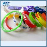 Braccialetto all'ingrosso del silicone del braccialetto di schiaffo del PVC