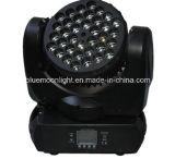 단계 장비 LED 36X3w 크리 사람 광속 이동하는 맨 위 디스코 빛