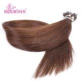 卸し売り毛の拡張100%実質のバージンの人間の毛髪