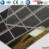 PV 유리제 Tempered 태양 유리제 낮은 철