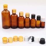 精油のこはく色のガラスビン(NBG01)