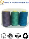 De 100% kern-Gesponnen Textiel Naaiende Draad van de Polyester voor het Watteren van Stof 20s/2
