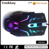 Más barato precio de fábrica 6D Blacklit ratón para juegos