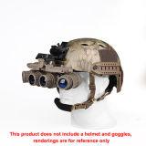 Neue Art-Sturzhelm-Adapter-Sturzhelm-Zubehör-schwarzer Sturzhelm hängt Cl24-0049 ein