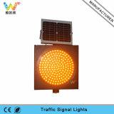 Indicatore luminoso d'avvertimento di traffico giallo solare di sicurezza stradale 400mm