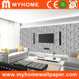 Papier peint moderne de vinyle de PVC de l'espace pour la décoration à la maison
