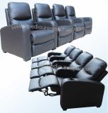 Chaise de cinéma Geniune Leather Recline (B039)