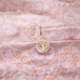 贅沢な印刷された綿の寝具セットの卸しで羽毛布団カバーは寝具をセットする