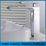 Grifo de lavabo de colada de la cara del cuarto de baño de la fuente, grifo del fregadero del lavabo