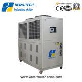 Refrigeratore di acqua industriale raffreddato aria del consumo di potere basso
