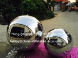 Sfera d'argento gonfiabile rotonda dello specchio di nuovo stile per la grande decorazione della fase