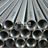 """6 Tubo de aço inoxidável de 5/8"""" do tubo do filtro de tela de cunha Johnson Tela de poços de água"""