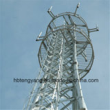 Stahl galvanisierter Guyed Aufsatz für Telekommunikation