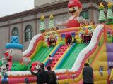 Heißer Verkauf Gaint aufblasbares Karikatur-Schloss für Freizeitpark