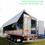 Aanhangwagen van Curtainside van de Lading van de Functie van het Voertuig van het vervoer de In het groot Multi