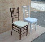 使用される結婚式金属の宴会のTiffany Chiavariの椅子をスタックする