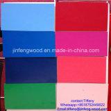 ISO9001: 中国のブナカラーメラミンMDF/Melamine表面削片板からの2008年の家具AAAの等級E2の接着剤の木製の穀物カラー100%年のポプラ