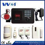 3つの前もって調整された電話番号への自動SMS機能のGSMのホームセキュリティーの警報システム