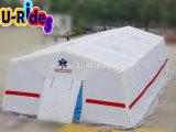 白い医学の膨脹可能な屋外のための空気によって密封されるテント