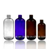 Frasco de petróleo essencial de vidro redondo de Boston com conta-gotas
