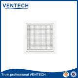 Sistema HVAC Núcleo removível de alumínio Eggcrate Grelha de ar com filtro