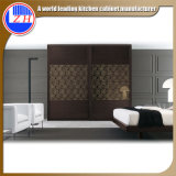Sliding現代Door Wardrobeの寝室Furniture Wardrobe (カスタマイズされる)