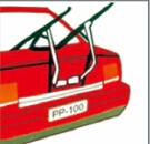 Stahlqualitätsauto-Rückseiten-Fahrrad-Träger