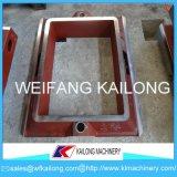 Ligne de moulage de cadre de sable de haute sécurité moule utilisé pour la fonderie