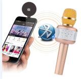 Ios 인조 인간 Smartphone를 위한 E106 마이크 KTV Karaoke 소형 Mic 스피커 무선 마이크