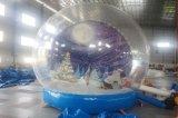 Aufblasbarer bekanntmachender Produkt aufblasbarer Trasparent Schneeball