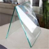 Le verre trempé clair 10mm avec bords polis