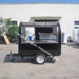 Кухня для приготовления пищи для мобильных ПК продовольственная корзина прицепа / Питание торговые автоматы / тележки прицепа продовольствия двери