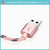 Tressé en nylon rouge du chargeur Câble USB 3.1 de type C pour les appareils Android