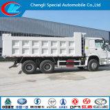 6X4 HOWO Volquete IZD Rhd Dumper camiones volquete