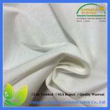 Tela de algodão respirável estendida impermeável revestida de PU