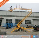 La Chine prix bon marché mobile automoteur 16m de l'homme Prix de l'articulation de relevage de flèche/de relevage de flèche sur remorque