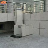 Piattaforma residenziale dell'interno dell'elevatore di sedia a rotelle di prezzi dell'elevatore di /Outdoor di altezza verticale idraulica di marca 1.5m di Morn per il Elder