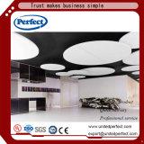 Schalldichtes dekoratives Material-Fiberglas-akustische Decken-Fliesen