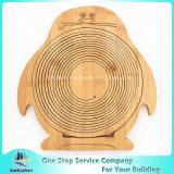 Cesta de bambú del vehículo de la cesta de fruta de la dimensión de una variable animal