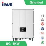 Inverseur solaire Réseau-Attaché triphasé d'Invt BG 6kwatt/6000watt