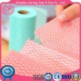 Non-Woven Wipe ткани чистки дома ткани