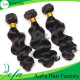 Estensione brasiliana di vendita calda dei capelli umani di Remy dei capelli del Virgin