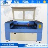 Mini máquina de estaca da gravura do laser da câmara de ar do CO2 para o acrílico de madeira