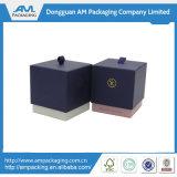Nach Maß Geschenk-Papier-Fach-Kasten-Flachgehäuse-Kerze-Kasten, der für Uhr oder Ring verpackt