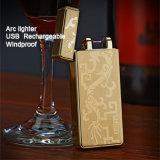 Encendedor recargable Windproof Arc USB de Mechero dones creativos
